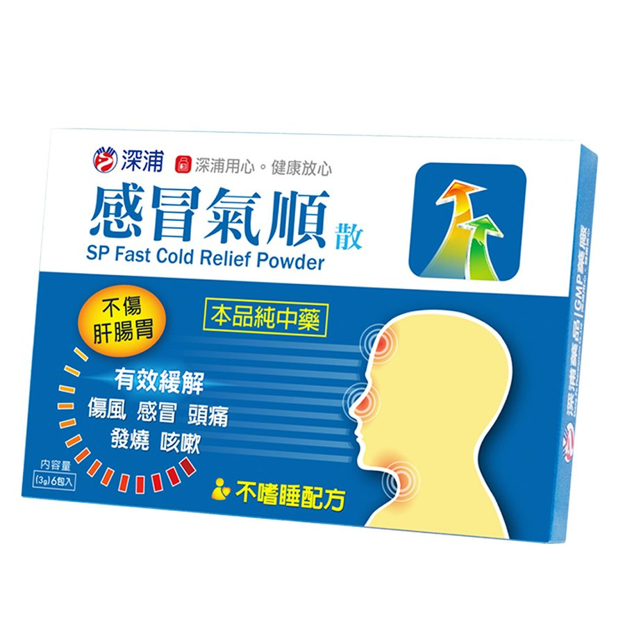 SP Fast Cold Relief Powder